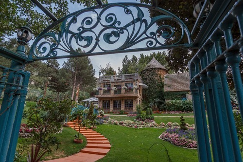 Trent Nelson  |  The Salt Lake Tribune The grounds of Sandy's La Caille restaurant are looking more inviting, thanks to the new owners who took over the place a year ago. Other changes at the iconic restaurant include an updated menu, a $250,000 kitchen remodel, plus the hiring of a new chef.