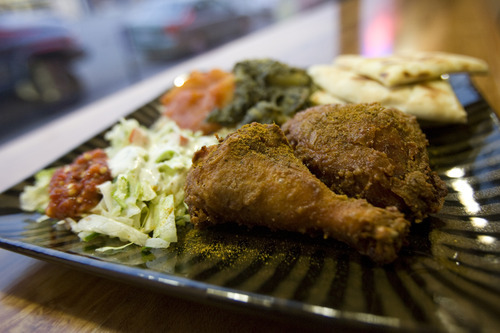 Kim Raff | The Salt Lake Tribune Curry Fried Chicken in Salt Lake City brings curry and fried chicken (and more) together, creating a spicy new adventure for your taste buds.