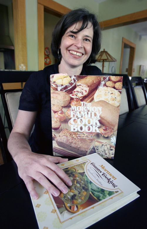 Steve Griffin  |  The Salt Lake Tribune Historian Kate Holbrook, shown here during her research of Mormon food culture, is co-director of a conference on