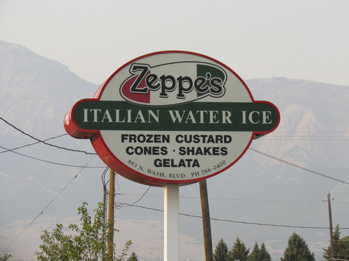 Courtesy of Wallace Dirmyer Zeppe's, at 883 N. Washington Blvd., in Harrisville, just north of Ogden, makes Italian Water Ice, gelata, frozen custard and shakes.