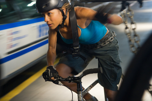 This film image released by Columbia Pictures shows Dania Ramirez in a scene from