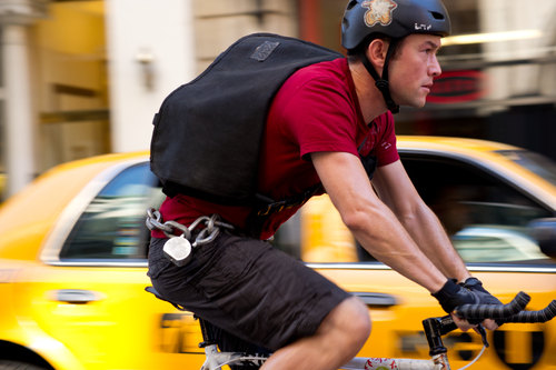 This film image released by Columbia Pictures shows Joseph Gordon-Levitt in a scene from