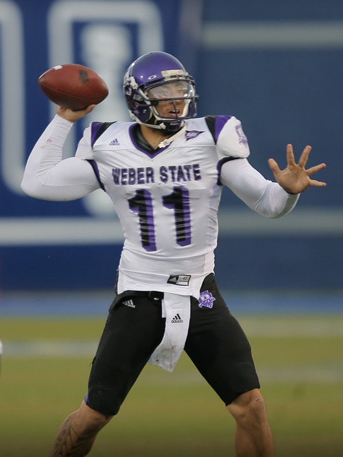 Courtesy photo Weber State quarterback Mike Hoke.