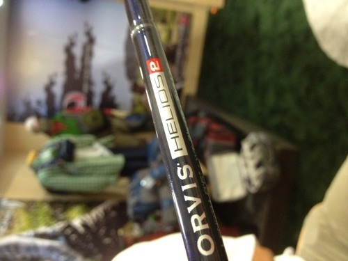 Helios 2 fly rod from Orvis