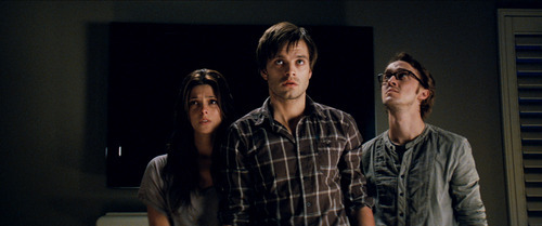 Stefan Erhard  |  Warner Bros. Pictures Ashley Greene, Sebastian Stan and Tom Felton (from left) star in the supernatural thriller