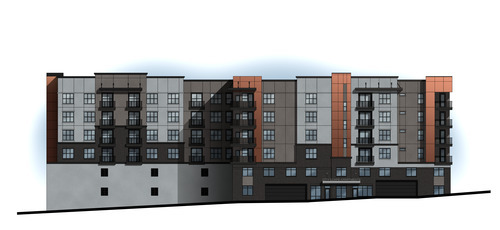 Wasatch Advantage Group and Strategic Multifamily have entered into a joint venture agreement to construct a 122-unit luxury apartments at 150 South 400 East in downtown Salt Lake City. Courtesy image
