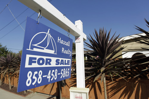 (AP Photo/Gregory Bull, File) The S&P/Case-Shiller monthly index covers roughly half of U.S. homes. It measures prices compared with those in January 2000 and creates a three-month moving average. The June figures are the latest available.