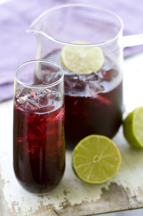 Matthew Mead  |  The Associated Press Glasses of red wrong-way sangria.