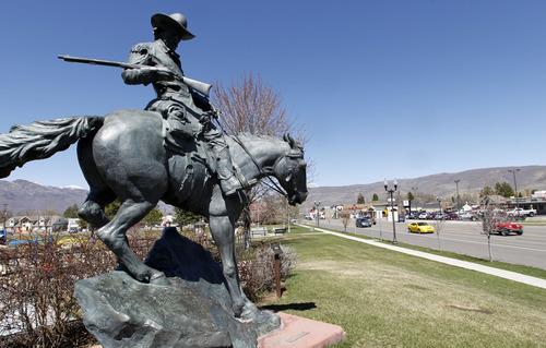 Al Hartmann  |  The Salt Lake Tribune Statue called