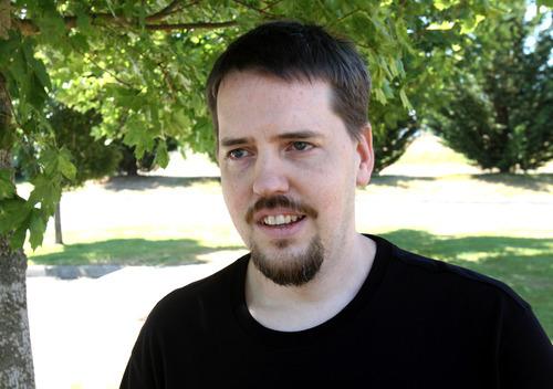Rick Egan      Tribune file photo  Joshua Powell is interviewed in 2011.