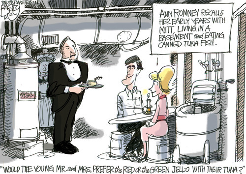This Pat Bagley editorial cartoon appears in The Salt Lake Tribune on Thursday, Aug. 30, 2012.