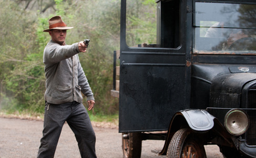 This film image released by The Weinstein Company shows Tom Hardy in a scene from