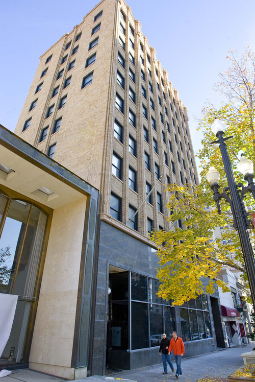 Tribune file photo The Ezra Thompson Building at 143 S. Main in Salt Lake City, which formerly housed The Salt Lake Tribune, will be the new home of Neumont University.