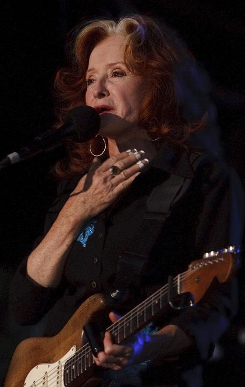 Leah Hogsten  |  The Salt Lake Tribune Bonnie Raitt performs in concert, August 28, 2012 at Red Butte Garden.