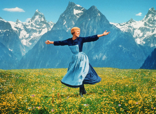 Julie Andrews appears in the 1965 film