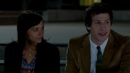 Rashida Jones and Andy Samberg play the title roles in the comedy