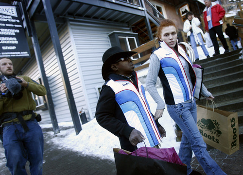 Chris Detrick  |  Tribune file photo Gary Coleman and his former wife, Shannon Price, walk down Main Street in Park City during the 2007 Sundance Film Festival.