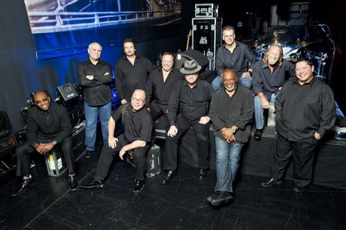 Tower of Power photographed on 12/02/11 in El Cajon (San Diego) and on 12/03/11 at Club Nokia in Los Angeles. Courtesy photo