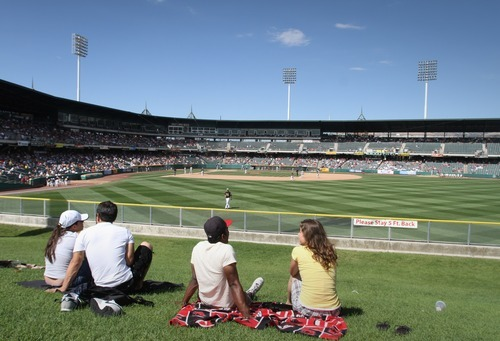 Rick Egan  | The Salt Lake Tribune  In 2012, Salt Lake enjoyed the fifth-highest attendance in the PCL, drawing more than a half-million fans, or 7,161 a game, eclipsing last year' average of 6,438 from 437,769 spectators.