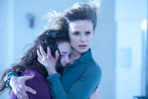 This image released by Lionsgate Pictures shows Madison Davenport, left, and Kyra Sedgwick in a scene from