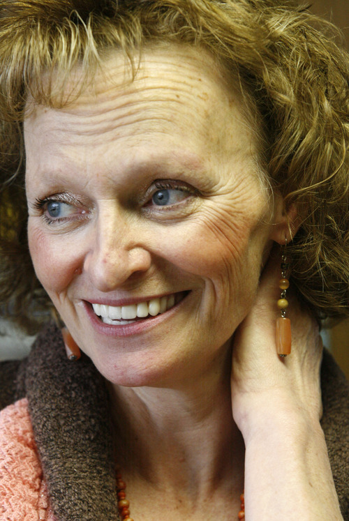 Rick Egan  | The Salt Lake Tribune   Debra Brown was released from prison after being found