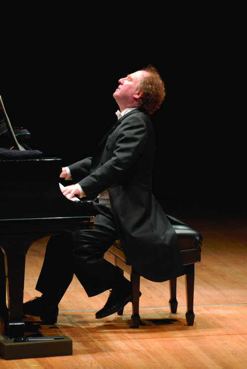 Jeffrey Kahane will perform on Tuesday at Libby Gardner Hall. Courtesy photo