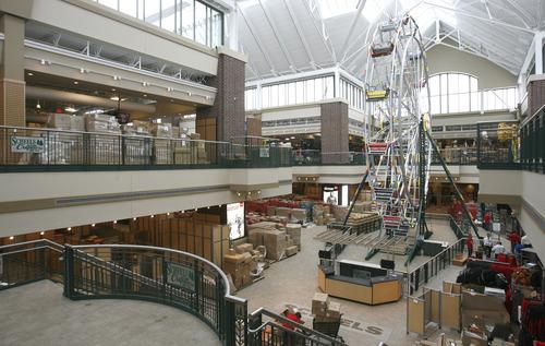 Rick Egan  | The Salt Lake Tribune   Iinside the Scheels sporting goods store in Sandy.  Thursday, September 6, 2012.