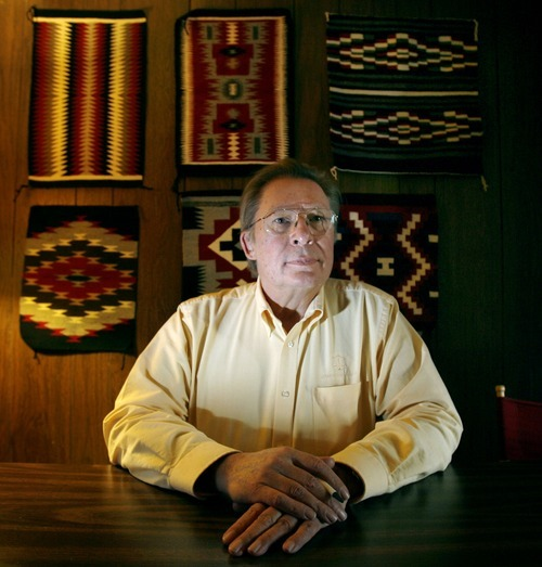 Steve Griffin  |  Tribune file photo Civil rights attorney Brian Barnard, photographed in his office in 2010, died in his sleep over the weekend.