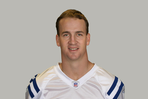 This is a photo of Peyton Manning of the Indianapolis Colts NFL football team. This image reflects the Indianapolis Colts active roster as of Tuesday, Aug. 9, 2011. (AP Photo)