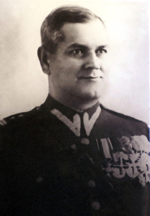 This 1938 photo provided by the family shows Franciszek Herzog. Documents released Monday, Sept. 10, 2012, and seen in advance by The Associated Press lend further weight to the belief that sabotage within the highest levels of U.S. government helped cover up Soviet guilt in the killing of some 22,000 Polish officers and other prisoners in the Katyn Forest and other locations in 1940. Herzog died in the massacres. (AP Photo/Courtesy of Herzog Family)