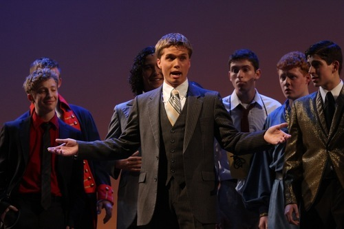 Courtesy photo Alta High graduate Peter Lambert was one of 60 young performers at this year's Jimmy Awards, which are featured in the PBS series