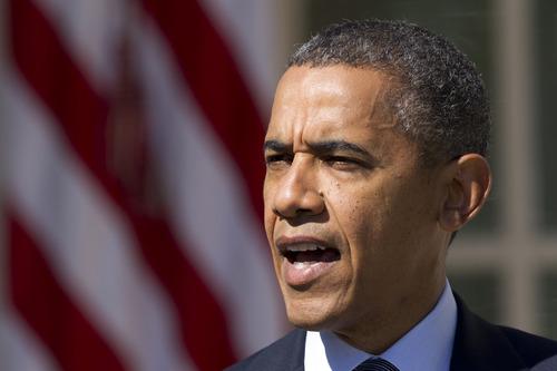 President Barack Obama speaks in the Rose Garden of the White House in Washington, Wednesday, Sept. 12, 2012.  (AP Photo/Manuel Balce Ceneta)