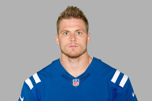 This is a 2012 photo of Austin Collie of the Indianapolis Colts NFL football team. This image reflects the Indianapolis Colts active roster as of Wednesday, June 6, 2012 when this image was taken. (AP Photo)