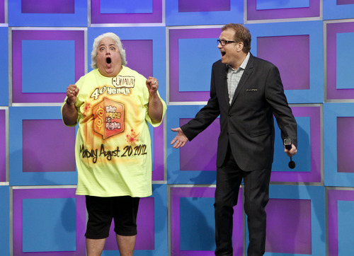 Courtesy photo Drew Carey, right, and one of the energetic