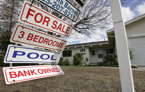 (AP Photo/Paul Sakuma, File) The pace of homes entering the foreclosure process is expected to decline gradually, experts say. But that decline probably will play  out unevenly, in part because of the differing approaches to handling foreclosures from state to state.