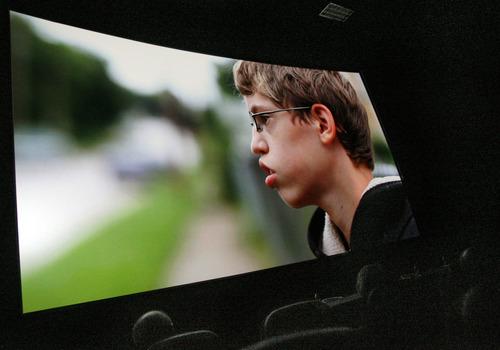 Francisco Kjolseth  |  The Salt Lake Tribune Bryant Middle School students watched the documentary