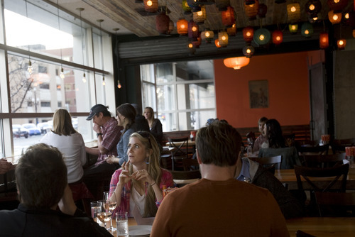 Kim Raff  |  The Salt Lake Tribune Plum Alley in Salt Lake City is one of 42 restaurants participating in the 2012 Downtown Dine O' Round. The promotion kicks on Friday, Sept. 14 and continues thorugh Sunday, Sept. 30.
