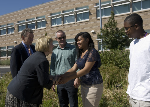 U S Education Officials Study Progress In Salt Lake The