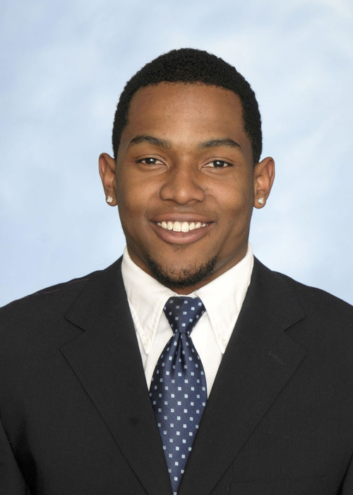 Utah State cornerback Willie Davis. Courtesy Utah State University
