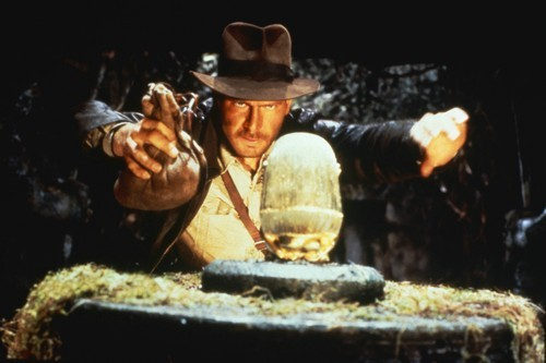Harrison Ford as Indiana Jones in