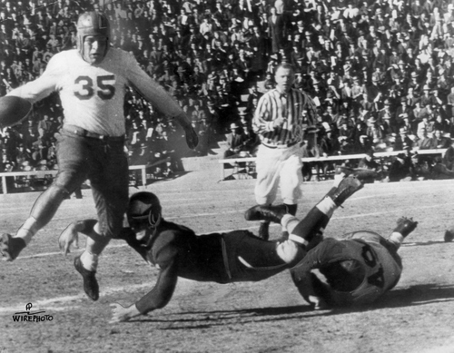 Archives | The Salt Lake Tribune   Utah Football vs New Mexico, Jan 2, 1939.