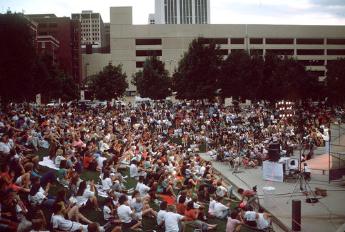 Tribune file photo  People attend a Twilight Concert Series show in 1991.