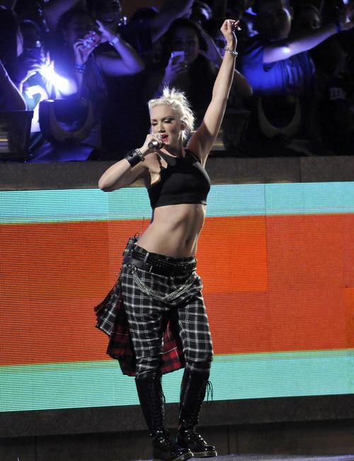Evan Agostini     Invision/AP When Gwen Stefani sings,