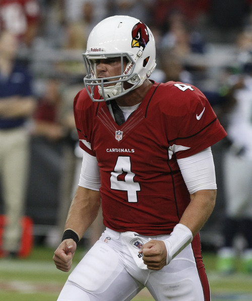 Rick Scuteri  |  The Associated Press … 14:57 … 14:58 … 14:59 … Sorry Kevin Kolb -- you've got the Pats this week. Your 15 minutes are up.