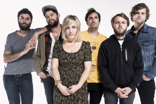 The Head and The Heart perform at The Depot tonight. Courtesy photo