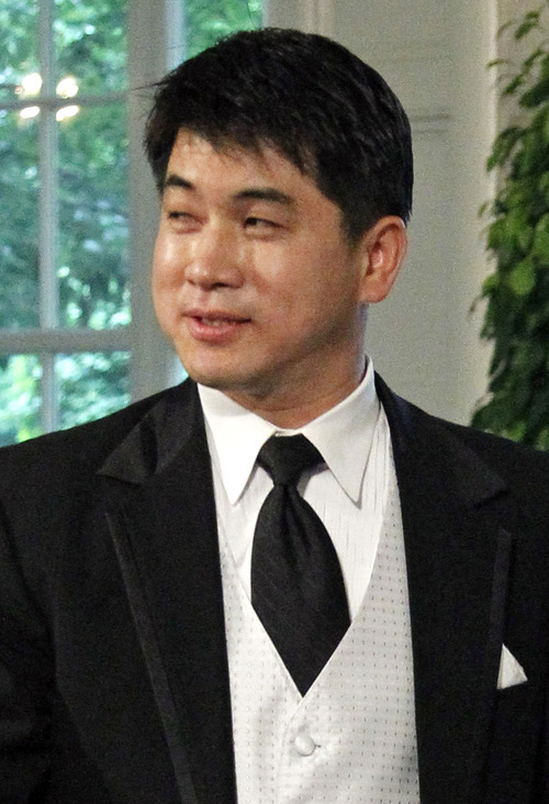 File photo | The Associated Press Short-track coach Jae Su Chun is accused of abuse.
