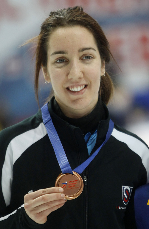 File photo   The Associated Press Lana Gehring is an Olympic bronze medalist.