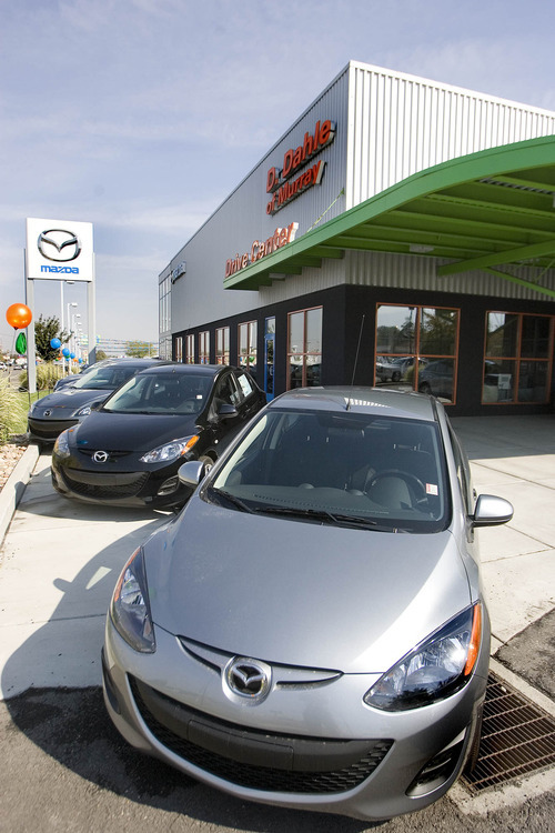 Paul Fraughton | The Salt Lake Tribune General Manager Rob of D. Dahle Mazada of Murray thinks many buyers have delayed purchases during the long economic downturn that began in 2007 with the onset of the Great Recession.