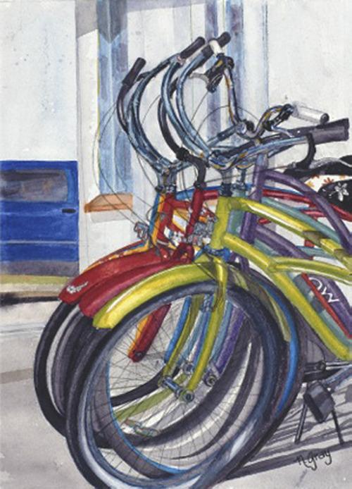 Courtesy Nan Gray The Art at the Main Gallery will sponsor the Nan Gray