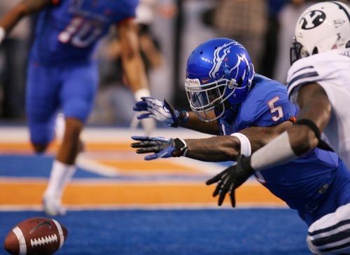Boise State vs. BYU Cougars Thursday Sept. 20, 2012 at Bronco Stadium in Boise.